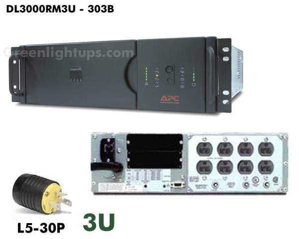 APC DL3000RM3U from GreenlightUPS.com