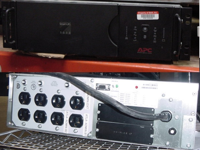 Real Image of APC DL3000RM3U from GreenlightUPS.com