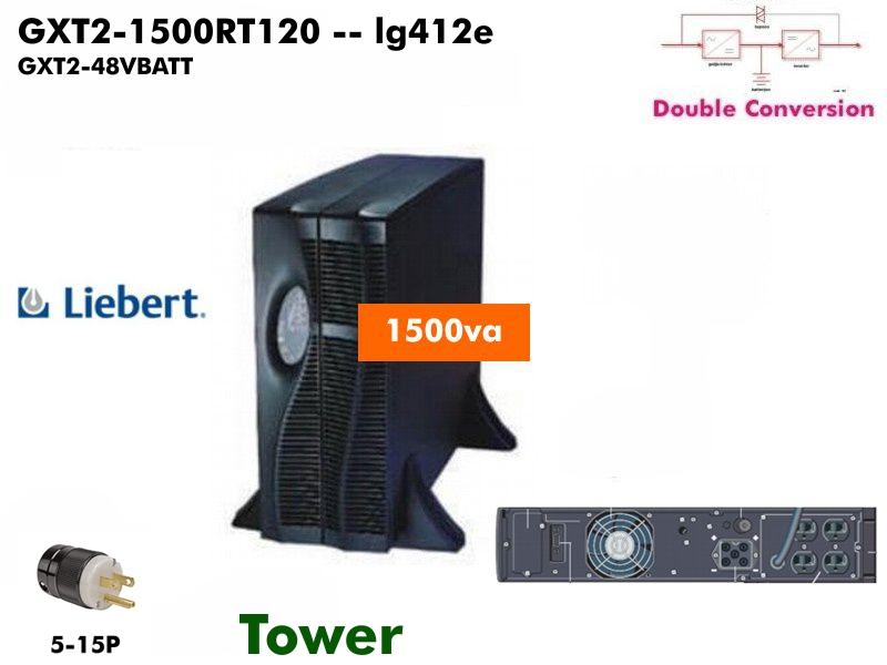 GXT2-1500RT120+GXT2-48VBATT