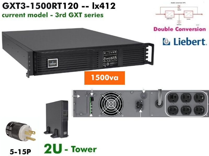 GXT3-1500RT120